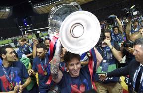 كأس الأبطال بين أيدي برشلونة