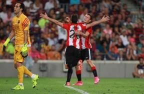 مباراة برشلونة وبلباو