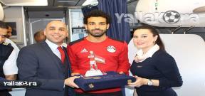 شركة الطيران تُكرم منتخب مصر