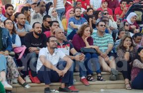 مباراة مصر والسعودية من كايرو فيستيفال سيتي
