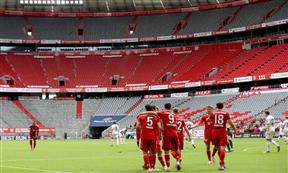 لقطات مباراة بايرن ميونيخ وفرايبورج