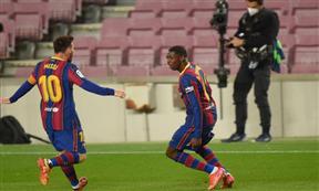 لقطات مباراة برشلونة وبلد الوليد