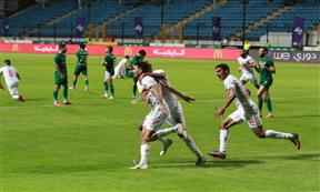 لقطات مباراة الزمالك والمصري