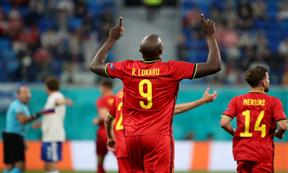 لقطات مباراة بلجيكا وروسيا