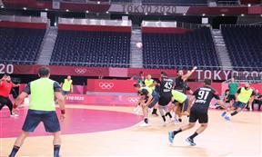 منتخب مصر لكرة اليد يستعد لأولمبياد طوكيو
