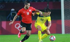لقطات مباراة منتخب مصر واستراليا بأولمبياد طوكيو