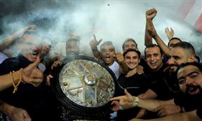 تتويج الزمالك بطلا للدوري المصري