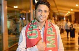 وصول محمد ابراهيم للبرتغال للتوقيع مع نادى مارتيمو