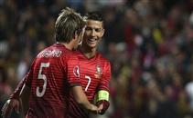اهداف لقاء البرتغال وصربيا