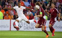 هدفا هولندا أمام لاتفيا