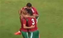 هدف المغرب في مرمي ليبيا
