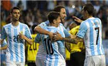 هدف الأرجنتين لهيجواين في مرمي جامايكا