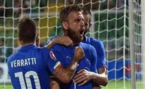 هدف فوز إيطاليا فى بلغاريا