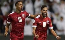 هدف قطر فى مرمى سوريا
