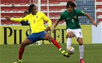 اهداف مباراة بوليفيا والإكوادور