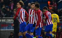 خماسية مباراة اتلتيكو مدريد ولاس بالماس