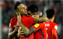 أهداف مباراة تشيلي والإكوادور