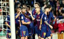 أهداف مباراة برشلونة واشبيليه
