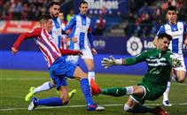 هدفا اتلتيكو مدريد فى مرمى ليجانيس