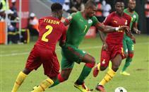 هدف غانا فى مرمى بوركينا فاسو