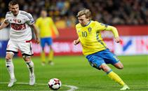 رباعية السويد فى روسيا البيضاء