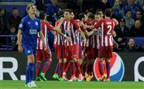 هدفا مباراة ليستر سيتي وأتلتيكو مدريد