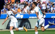 أهداف مباراة ألافيس وريال مدريد