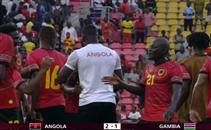 أهداف مباراة أنجولا وجامبيا