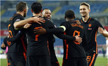 أهداف مباراة بولندا وهولندا