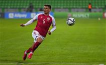 هدف الدنمارك أمام النمسا
