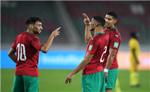 أهداف مباراة غينيا والمغرب