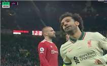 هدف محمد صلاح الثالث أمام مانشستر يونايتد