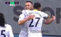 المحمدي يشارك في هدف أستون فيلا الأول أمام كريستال