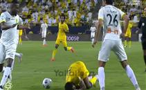 حجازي يتسبب فر ركلة جزاء على فريقه أمام النصر