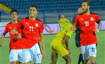 هدفا منتخب مصر الأوليمبي أمام جنوب افريقيا