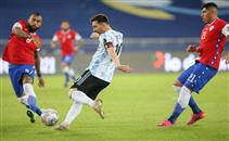 هدفا مباراة الأرجنتين وتشيلي