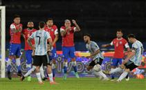 ملخص مباراة الأرجنتين وتشيلي
