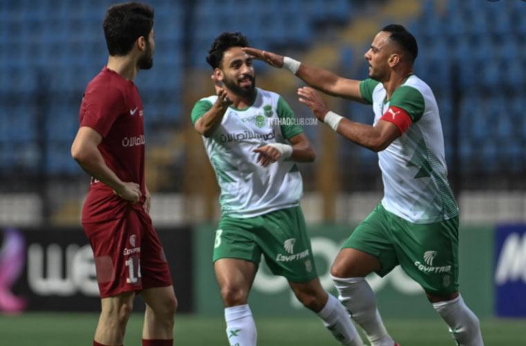 أهداف مباراة الاتحاد ومصر للمقاصة