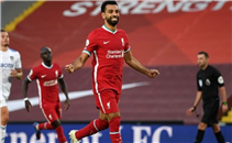 صلاح يسيطر على أفضل أهداف ليفربول لموسم 20-2021