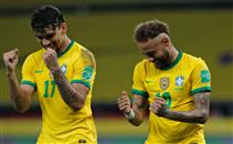 هدفا البرازيل أمام الاكوادور