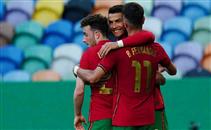 أهداف البرتغال في مباراة ودية