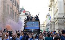 احتفال تاريخي لمنتخب إيطاليا بالفوز بـ يورو 2020