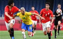 ملخص مباراة مصر الأولمبي والبرازيل