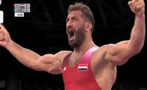 محمد متولي يتأهل لنصف نهائي المصارعة الرومانية