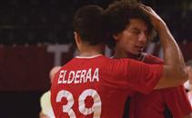 حزن لاعبي يد مصر بعد الخسارة أمام فرنسا