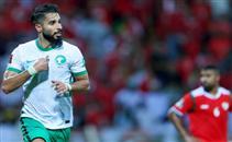 هدف السعودية أمام عمان