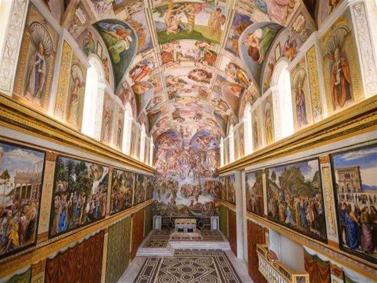 2- Sistine Chapel كنيسة سيستين شابيل - إيطاليا
