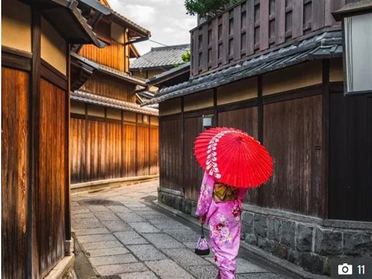 4- Gion Street, Japan  شارع جيون – اليابان