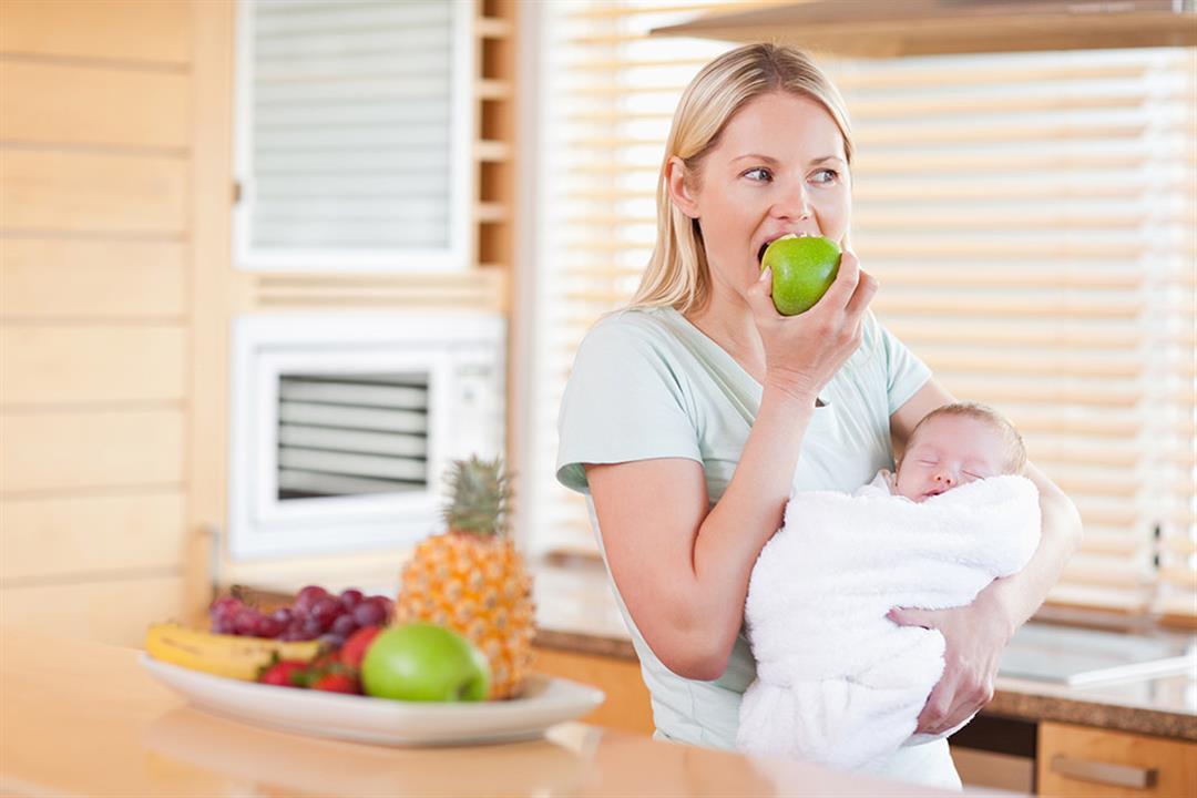 دايت بعد الولادة