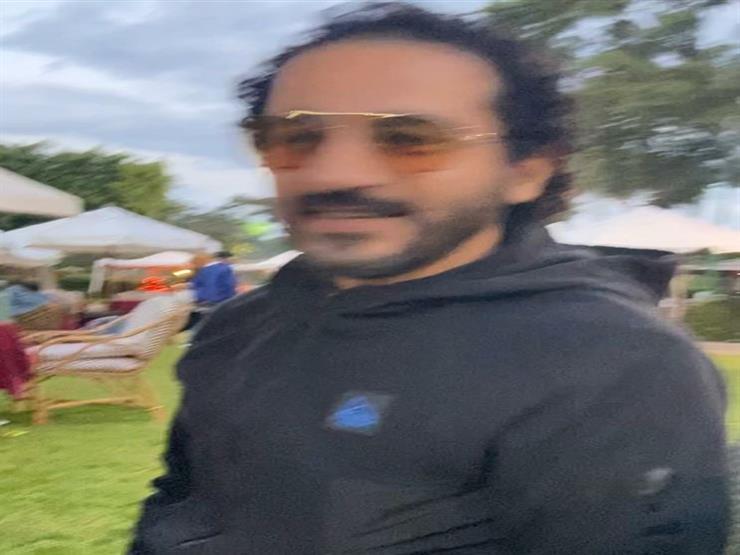 أحمد حلمي موقف طريف مع منى زكي 5